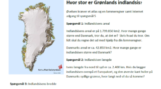 How big is the Greenland ice sheet