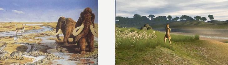 Mammut_og_menneske